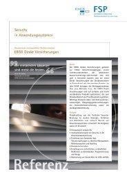 ERGO Direkt Versicherungen Security in ... - FSP GmbH