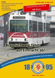 Heft 11 - FanPresse Braunschweig