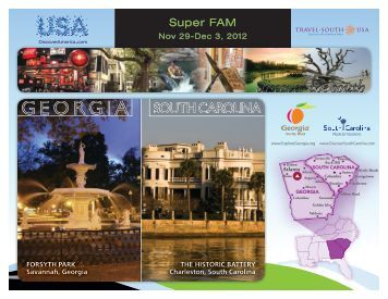 View Itinerary - Travel South USA