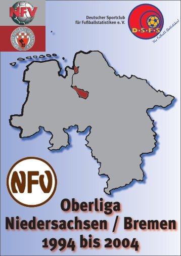 Oberliga Niedersachsen / Bremen 1994 bis 2004 - DSFS