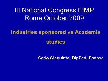Presentazione di PowerPoint - Fimp