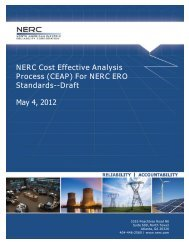 (CEAP) For NERC ERO Standards