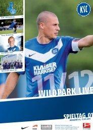 Stadionzeitung 1. Spieltag (KSC - MSV Duisburg ... - Karlsruher SC