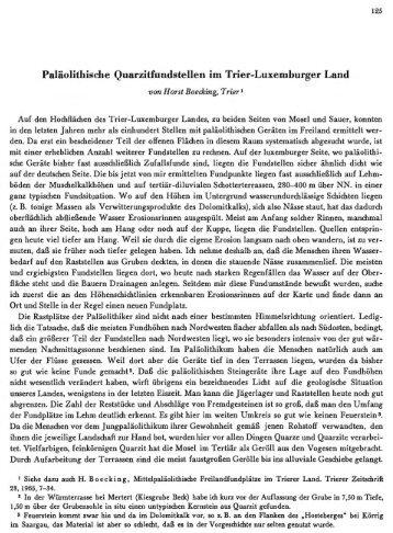 Paläolithische Quarzitfundstellen im Trier ... - quartaer.eu