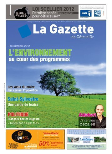 L'ENVIRONNEMENT - La Gazette de Côte d'Or