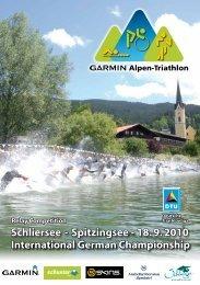 Schliersee - Garmin Alpen-Triathlon