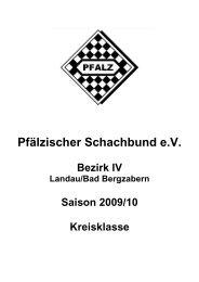 Pfälzischer Schachbund e.V. - 21. Rheinland-Pfalz ...