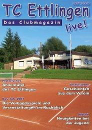 Clubzeitschrift 2007/2008 - Tennis-Club Ettlingen