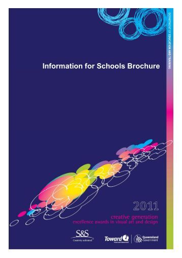 Information for Schools Brochure - Education Queensland