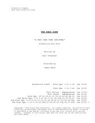 15-4015 Final Shooting Script.SCW - USA Network