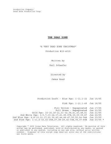 15-4015 Final Shooting Script.SCW - USA Network