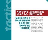RATE CARD - Tactics Magazine
