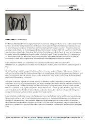 Robert Schad: Auf den ersten Blick Der ... - Galerie Borchardt