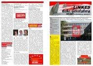 Rat der Stadt Gevelsberg zieht aufAntrag der Fraktion DIE LINKE ...