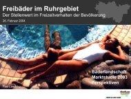 Vortrag Bundesfachverband öffentlicher Bäder 2004 - Metropole Ruhr