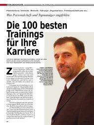Die 100 besten Trainings für Ihre Karriere - Primas Consulting