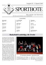 Ausgabe 3.Quartal - TV Hechtsheim