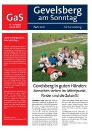 GaS Gevelsberg - Hilfe und Info