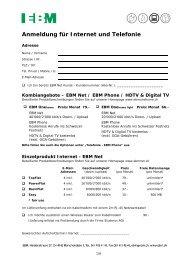 Anmeldeformular - EBM