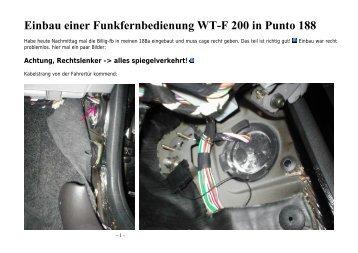 Fiat Punto 188 Einbau einer FFB WT.pdf - AutoExtrem.de
