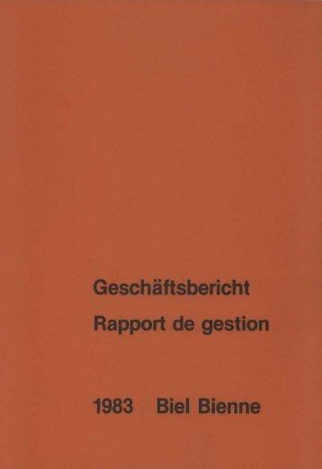 Geschäftsbericht - Stadt Biel