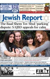 The Baal Shem Tov Shul 'parking' dispute - South African Jewish ...