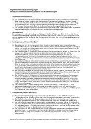 Allgemeine Geschäftsbedingungen - Schwarzwälder Bote