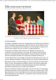 Horb a. N.: Ausbau versetzt zurück in die Steinzeit - Schwarzwälder ...