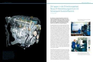 Zeit sparen in der Entwicklungsphase: Neues CT ... - ProPlas
