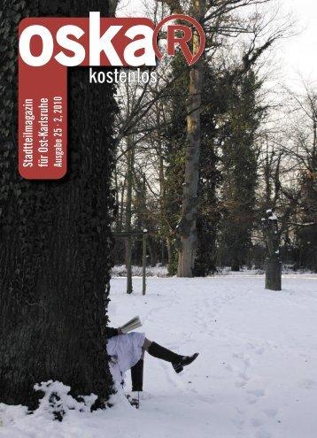 Stadtteilmagazin für Ost-Karlsruhe Ausgabe 25 · 2, 2010