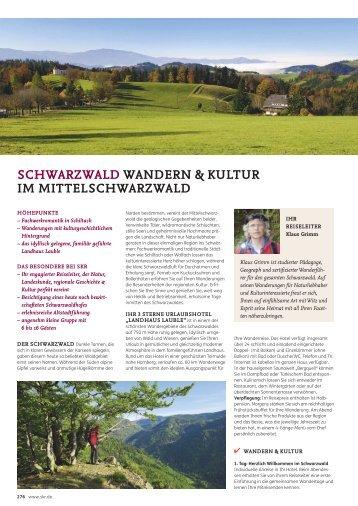 SCHWARZWALD WANDERN & KULTUR IM MITTELSCHWARZWALD