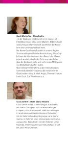Gegensätze« Gusti Markefka Klaus Grimm - glaskunst.markefka - Seite 2