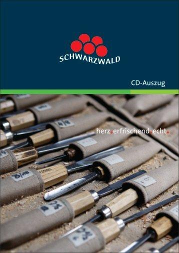 Schwarzwald, Corporate Design Handbuch ... - Design Tagebuch