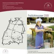 Info-Service der Freilichtmuseen in Baden ... - Landmuseen