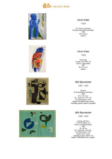 Untitled - Galerie Noah