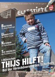 Elsestifte - Gemeinde Kirchlengern