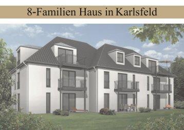8-Familien Haus in Karlsfeld - Wohnungsbau Nickol