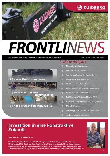 Investition in eine konstruktive Zukunft - Zuidberg