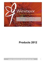 Products 2012 - Wiesmoor Grower Group