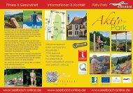 Aktiv-Park Fitness & Gesundheit Informationen & Kontakt www ...