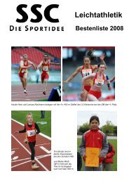 Bestenliste 2008
