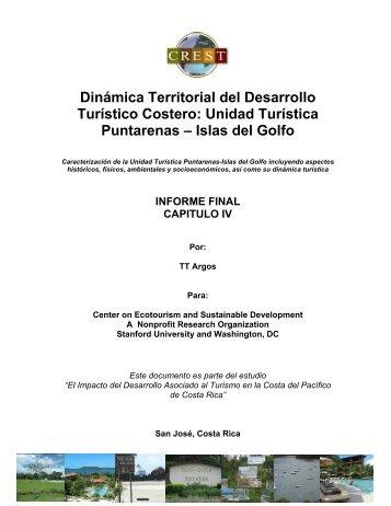 Unidad Turística Puntarenas – Islas del Golfo - Center for ...