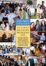 Alumni Reunion Weekend ColumbiA College