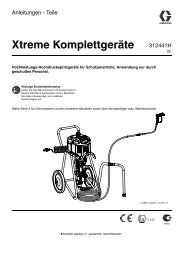312441H - Xtreme Packages, Instructions-Parts, German - Graco Inc.