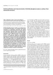 Partial purification and characterization of dolichol ... - Glycobiology