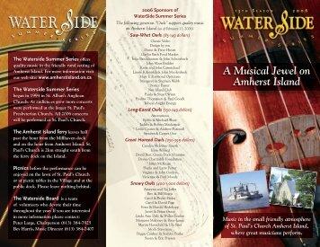 Waterside Brochure 06.indd - Amherst Island