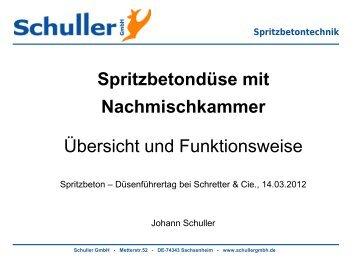 Spritzbetontechnik - Schretter & CIE