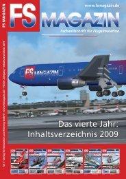 Inhaltsverzeichnis 2009 - FS Magazin