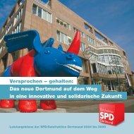 Leistungsbilanz 2004 - SPD-Ratsfraktion Dortmund