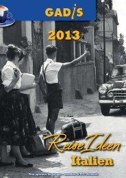Gadis Katalog 2013 - Gadis Tourist Service Italia